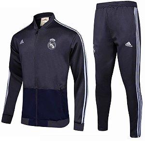 Kit treinamento oficial Adidas Real Madrid 2018 2019 preto