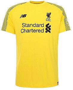 Camisa oficial New Balance Liverpool 2018 2019 I goleiro