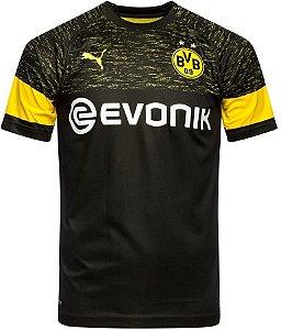 Camisa oficial Puma Borussia Dortmund 2018 2019 II jogador