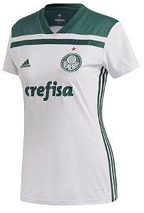 Camisa feminina oficial Adidas Palmeiras 2018 II