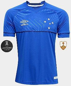 Camisa oficial Umbro Cruzeiro 2018 I jogador Libertadores