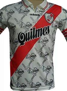 Camisa retro Adidas River Plate 1996 I jogador