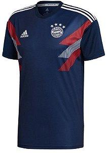 Camisa de treino oficial Adidas Bayern de Munique 2018 2019 Azul