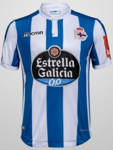 Camisa oficial Macron Deportivo La Coruña 2018 2019 I jogador
