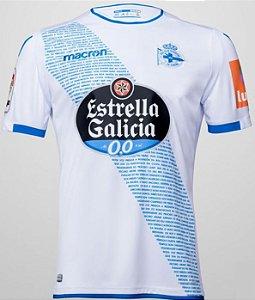 Camisa oficial Macron Deportivo La Coruña 2018 2019 II jogador