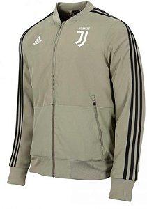 Jaqueta oficial Adidas Juventus 2018 2019 marrom