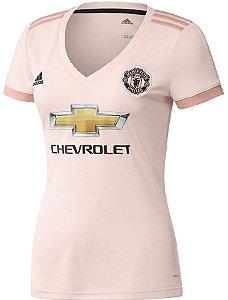 Camisa feminina oficial Adidas Manchester United 2018 2019 II