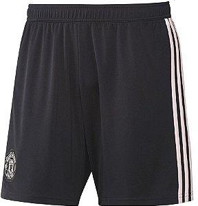 Calção oficial Adidas Manchester United 2018 2019 II jogador
