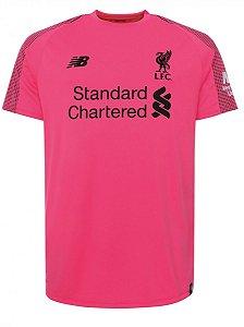 Camisa oficial New Balance Liverpool 2018 2019 II goleiro