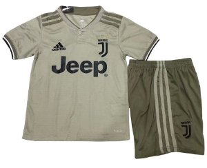 Kit infantil oficial Adidas Juventus 2018 2019 II jogador