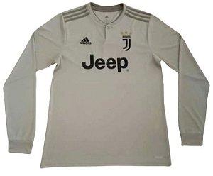 Camisa oficial Adidas Juventus 2018 2019 II jogador manga comprida