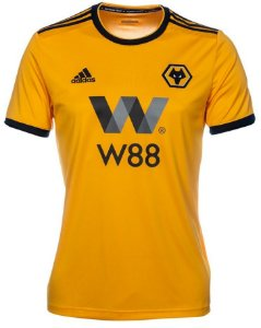 Camisa oficial Adidas Wolverhampton 2018 2019 I jogador