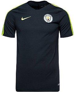 Camisa de treino oficial Nike Manchester City 2018 2019 preta
