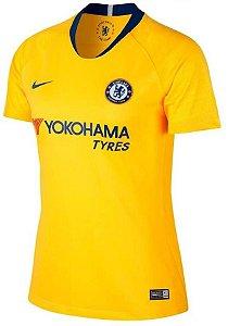 Camisa feminina oficial Nike Chelsea 2018 2019 II