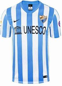 Camisa oficial Nike Málaga 2014 2015 I jogador