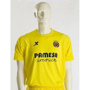 Camisa oficial Xtep Villarreal 2014 2015 I jogador