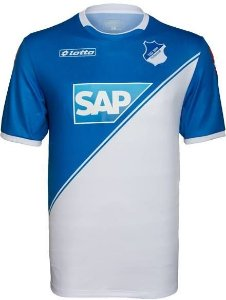 Camisa oficial Lotto Hoffenheim 2014 2015 I jogador