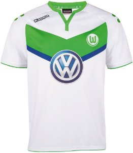 Camisa oficial Kappa Wolfsburg 2015 2016 I jogador