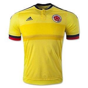 Camisa oficial Adidas Colombia 2015 I jogador Copa América