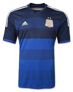 Camisa oficial Adidas Seleção da Argentina 2014 II jogador pronta entrega