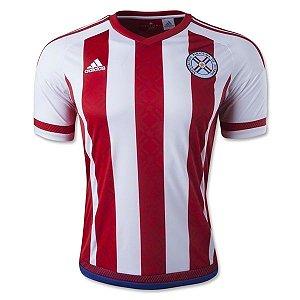 Camisa oficial Adidas seleção do Paraguai 2015 I jogador Copa América