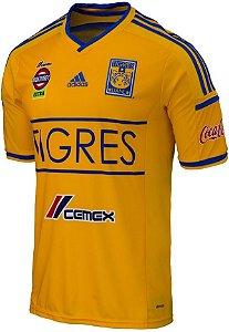 Camisa oficial Adidas Tigres UANL 2014 2015 I jogador