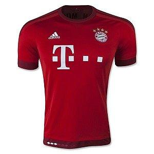 Camisa oficial Adidas Bayern de Munique 2015 2016 I jogador