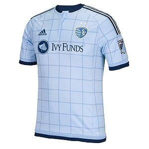 Camisa oficial Adidas Sporting Kansas City 2015 I jogador