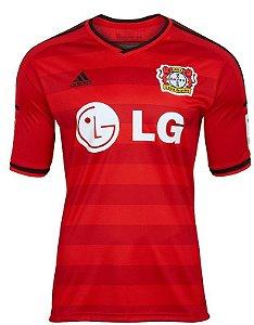 Camisa oficial Adidas Bayern Leverkusen 2015 2016 II jogador