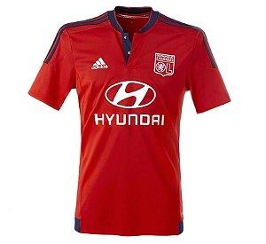 Camisa oficial Adidas Lyon 2015 2016 II jogador