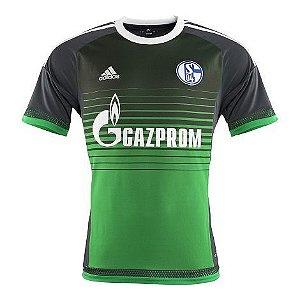 Camisa oficial Adidas Schalke 04 2015 2016 III jogador
