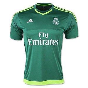 Camisa oficial Adidas Real Madrid 2015 2016 II Goleiro