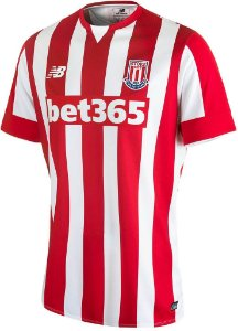Camisa oficial New Balance Stoke City 2015 2016 I jogador