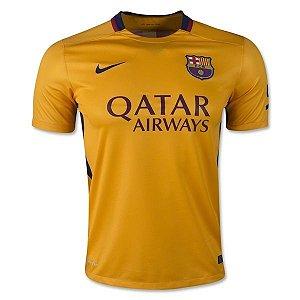 Camisa oficial Nike Barcelona 2015 2016 II jogador