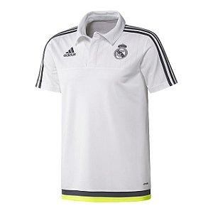 Camisa oficial Adidas Polo Real Madrid 2015 2016