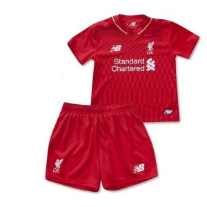 Kit infantil oficial New Balance Liverpool  2015 2016 I jogador