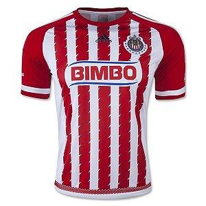 Camisa oficial Adidas Chivas Guadalajara 2015 2016 I jogador
