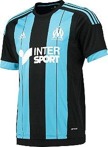 Camisa oficial Adidas Olympique de Marseille 2015 2016 II jogador