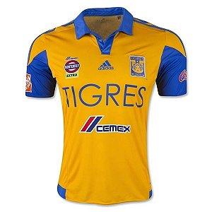Camisa oficial Adidas Tigres UANL 2015 2016 I jogador