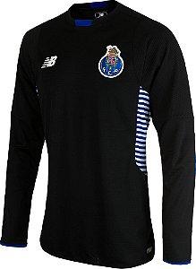 Camisa oficial New Balance Porto 2015 2016 I Goleiro