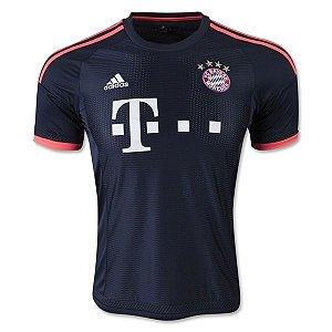 Camisa oficial Adidas Bayern de Munique 2015 2016 III jogador