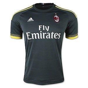 Camisa oficial Adidas Milan 2015 2016 III jogador