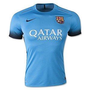 camisa oficial nike barcelona iii jogador