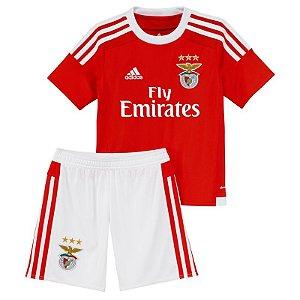 Kit oficial infantil Adidas Benfica  2015 2016 I jogador