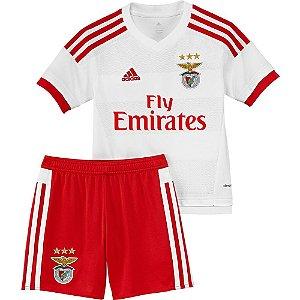 Kit oficial infantil Adidas Benfica  2015 2016 II jogador