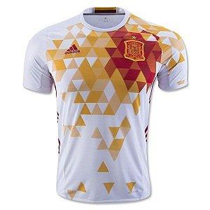 Camisa oficial adidas seleção da Espanha Euro 2016 II jogador