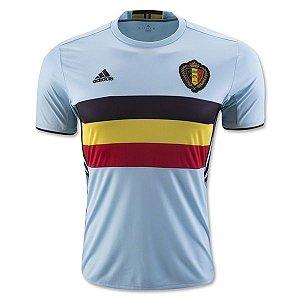 Camisa oficial Adidas seleção da Bélgica euro 2016 II  jogador