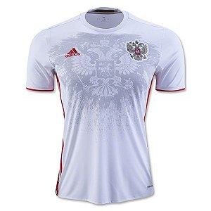 Camisa oficial adidas seleção da Rússia Euro 2016 II jogador