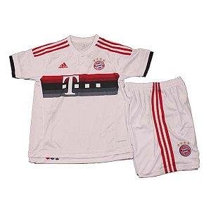 Kit infantil oficial Adidas Bayern de Munique 2015 2016 II jogador