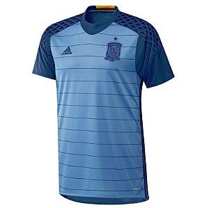 Camisa oficial adidas seleção da Espanha Euro 2016 I Goleiro